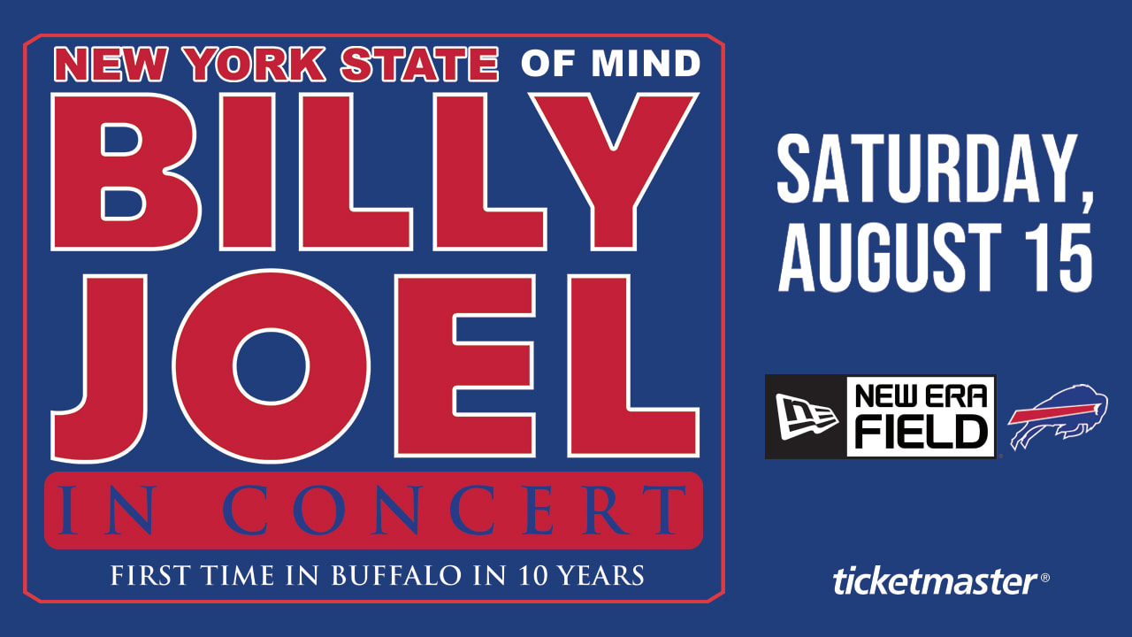 Buffalo Bills Schedule 2020.Tickets On Sale Now For Billy Joel At New Era Field