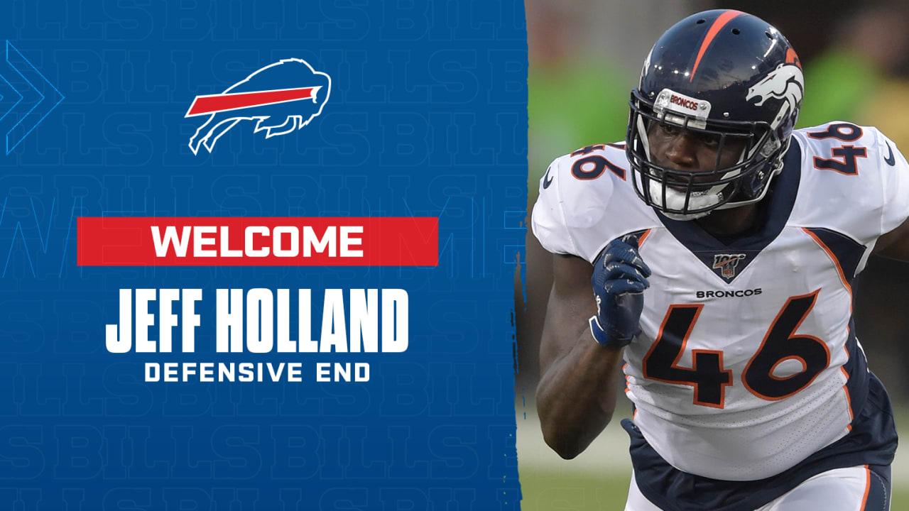 Bills Claim Defensive End Jeff Holland