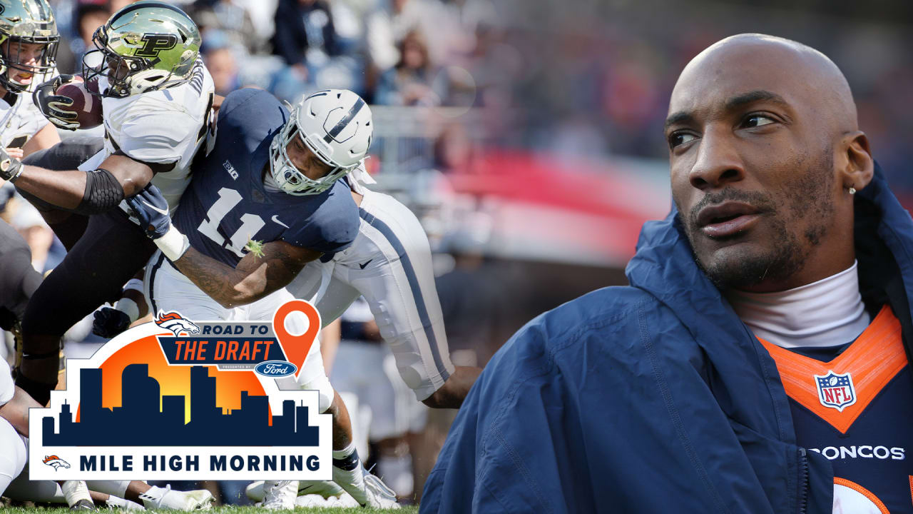 Aqib Talib details why he thinks Denver should draft Micah Parsons with the ninth-overall pick