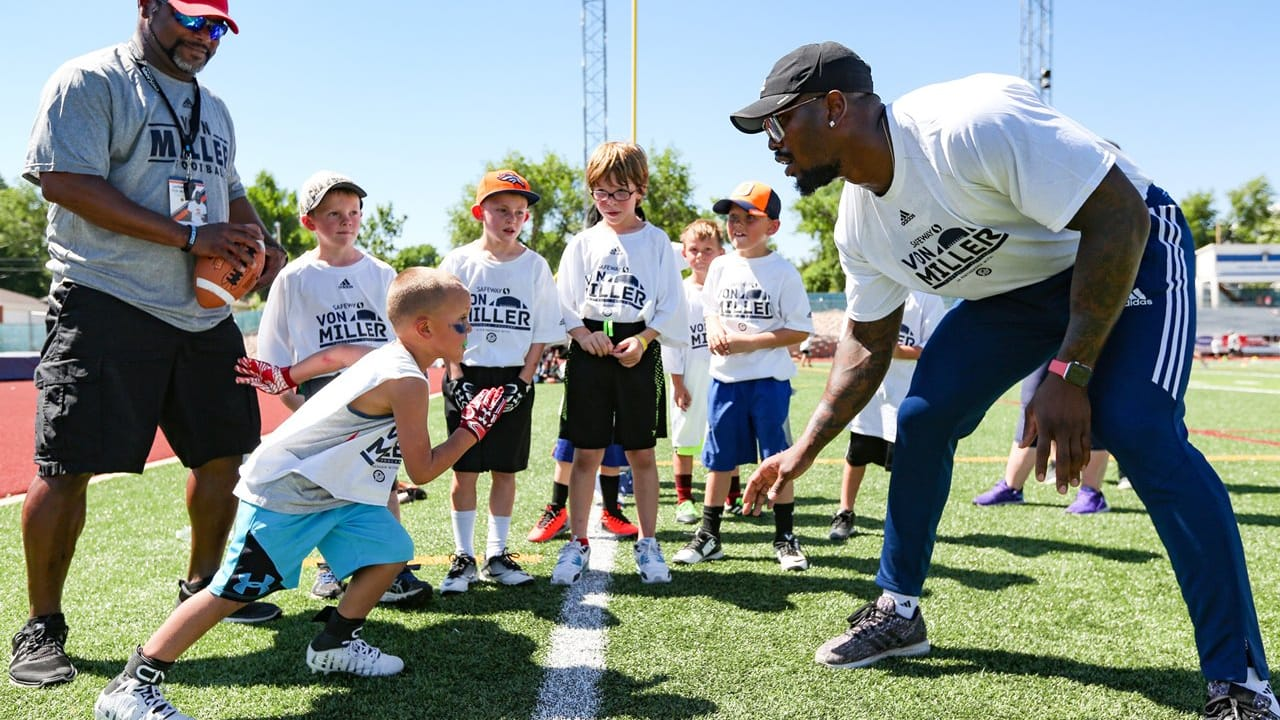 f9f2241e Two days at Von Miller's youth football camp