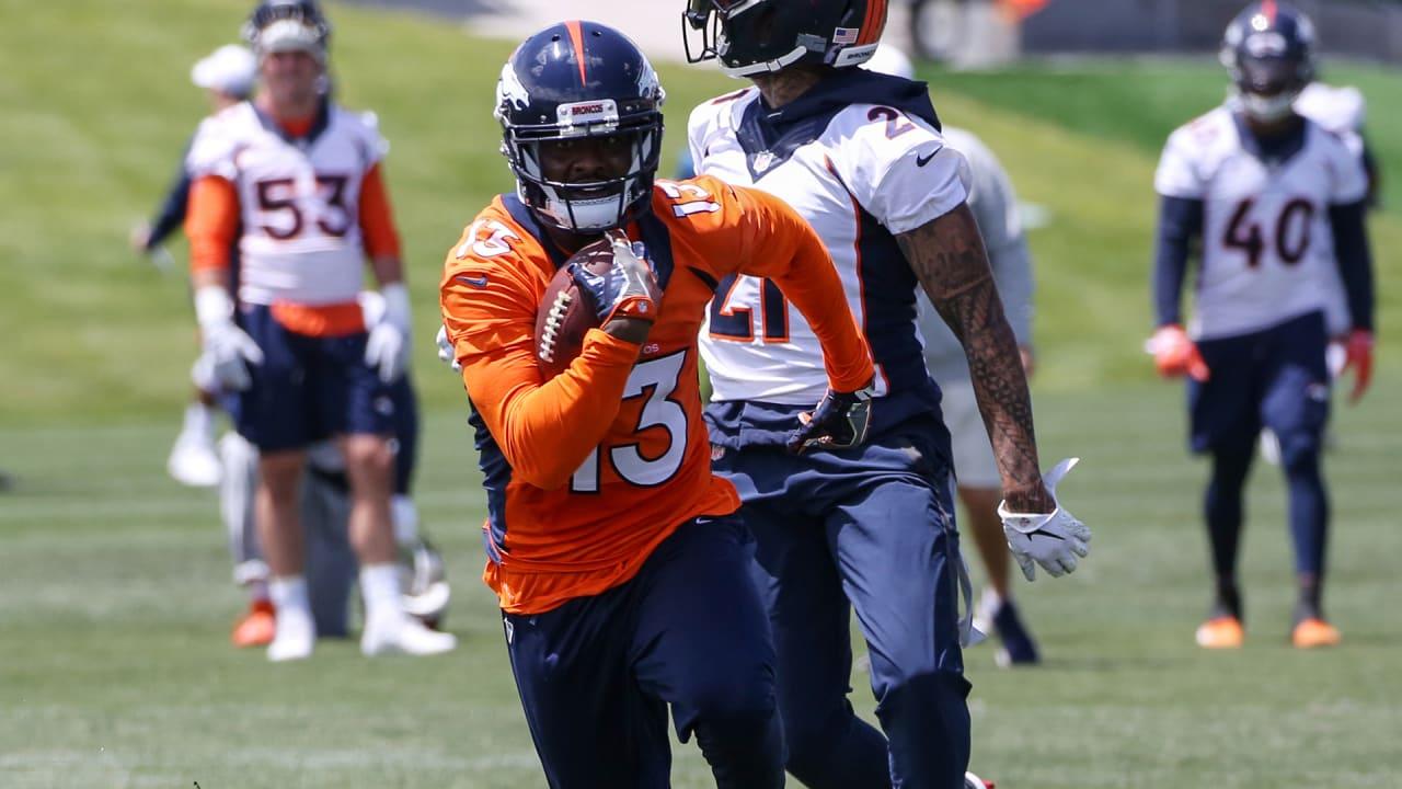 check out 332b6 ec39d Broncos waive WR Aaron Burbridge
