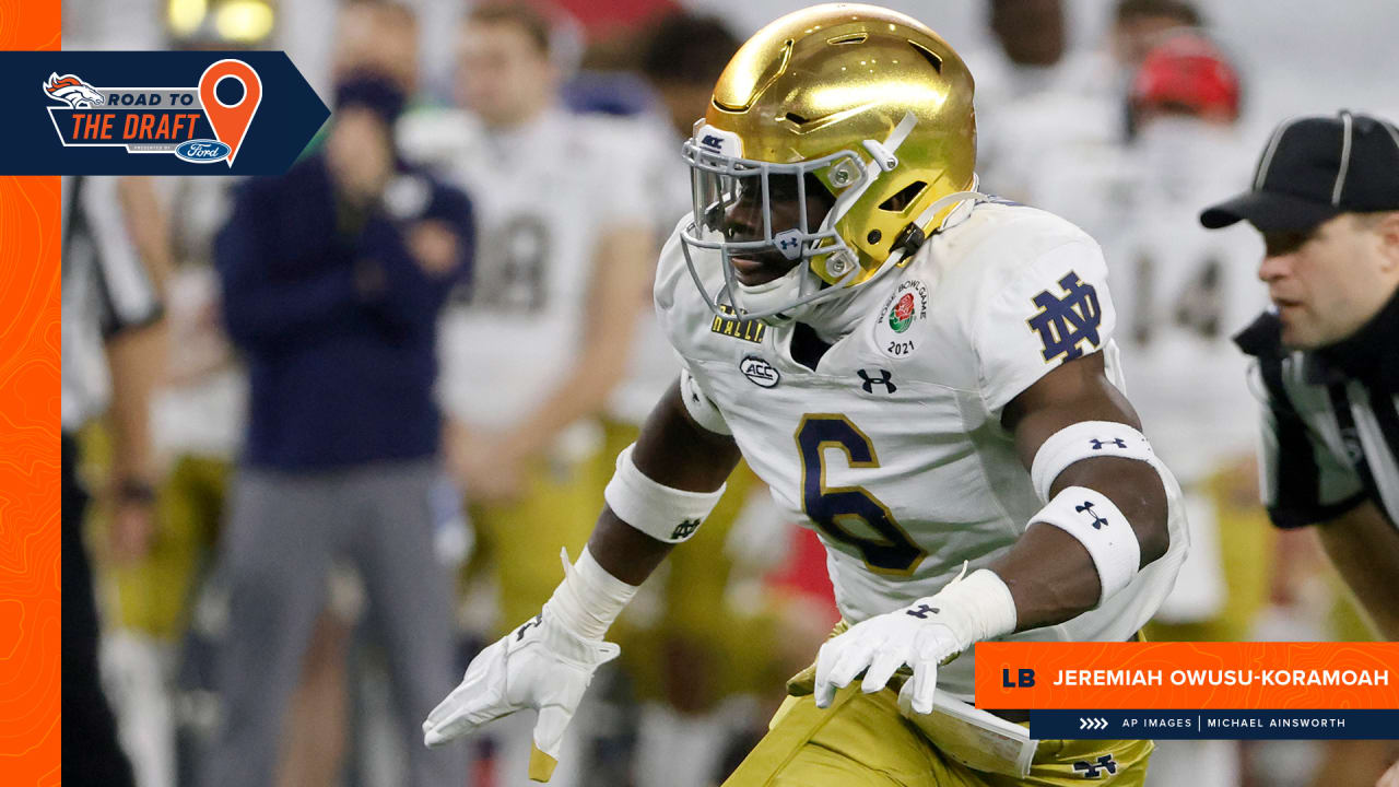 Notre Dame's Jeremiah Owusu-Koramoah latest hybrid linebacker who could thrive in today's NFL