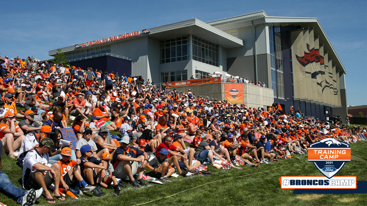 Broncos announce change to training camp practice schedule