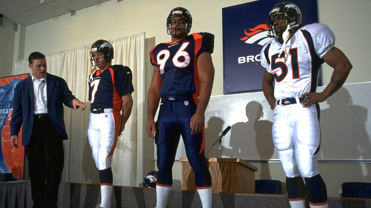 best sneakers 160f9 f43f5 Mason's Mailbag: A look back at the Broncos' 1997 uniform change
