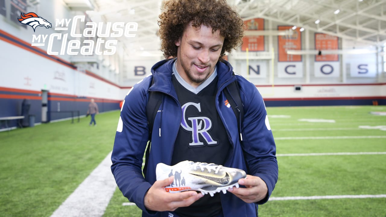 e1af01f2b Broncos reveal 2018 My Cause My Cleats cause selections and the  inspirations behind them