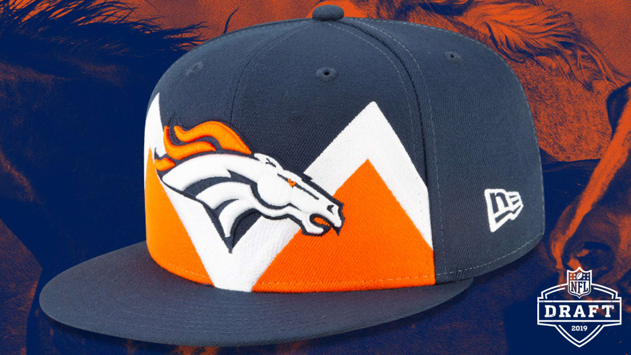 9b528f91 Broncos' 2019 NFL Draft hat unveiled
