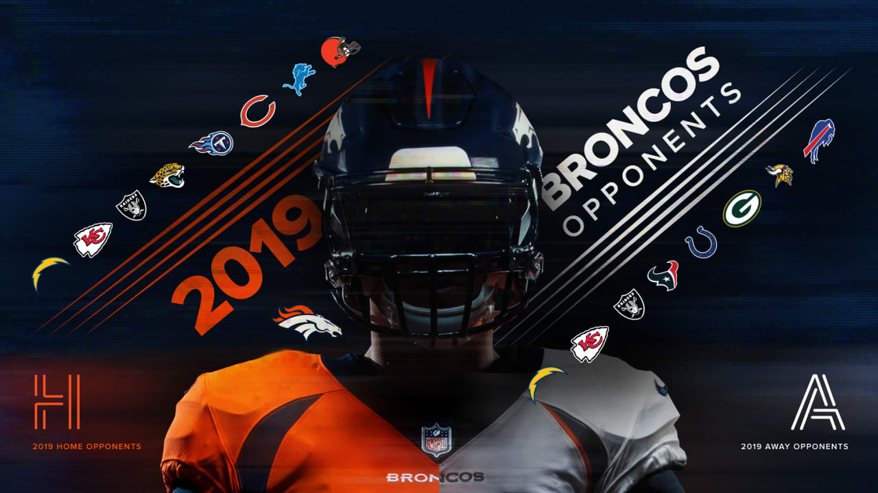 Broncos 2020 Schedule.Denver Broncos Future Opponents