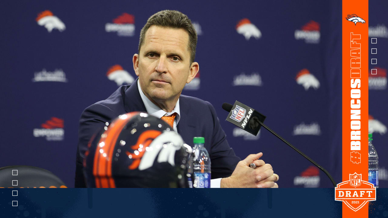 George Paton's gamble for extra picks pays off as Broncos land OL Quinn Meinerz, LB Baron Browning