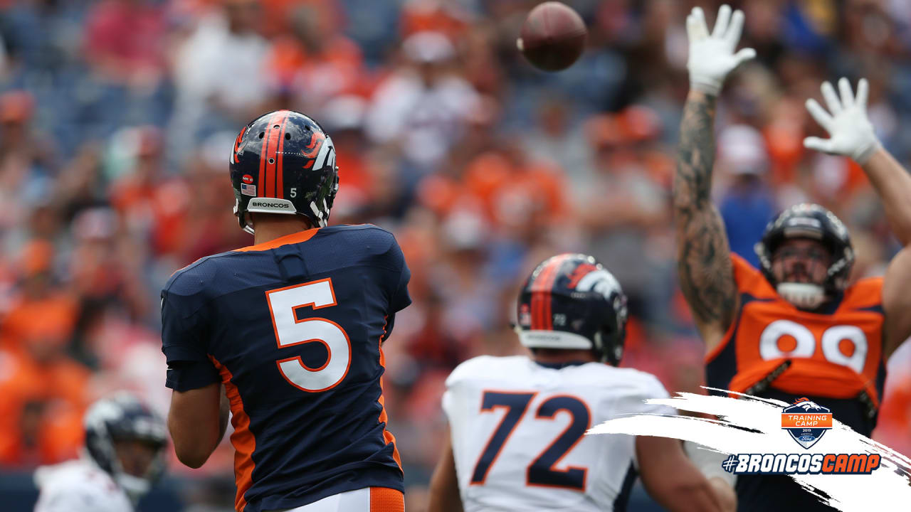 6760aa6a3 Highlights from practice at Broncos Stadium at Mile High