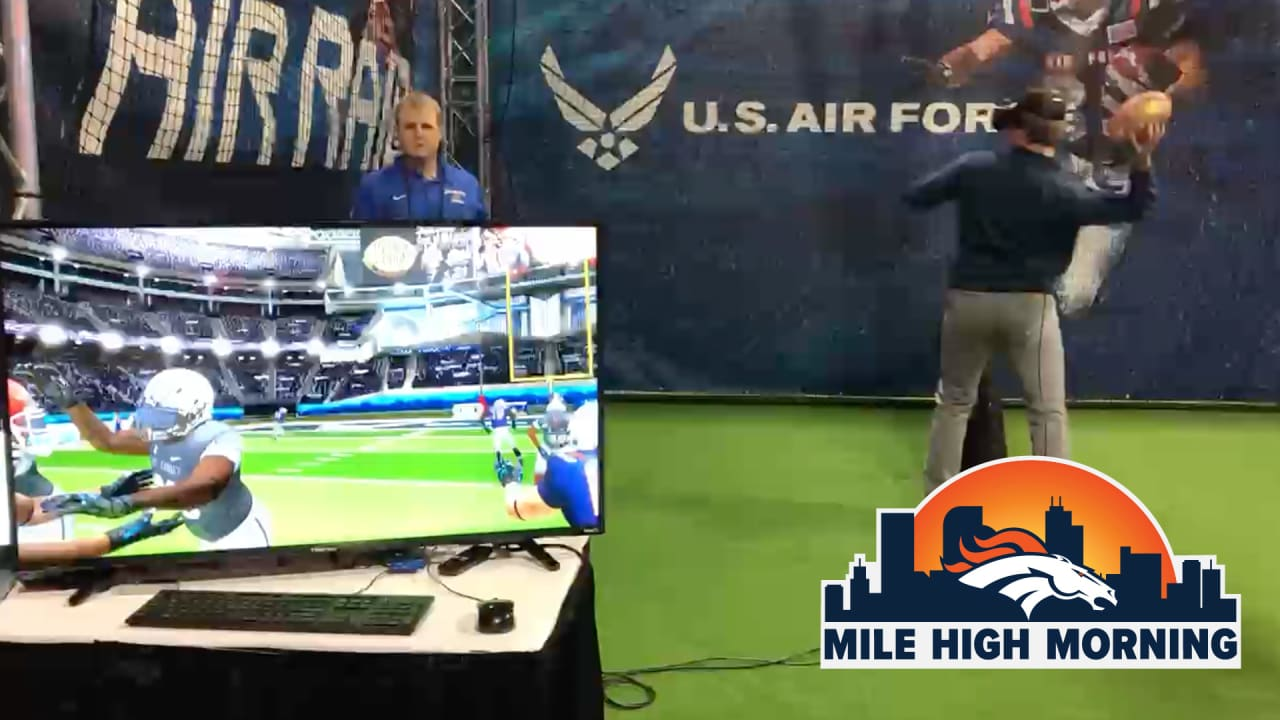 Inside former Broncos GM Ted Sundquist's virtual reality football project