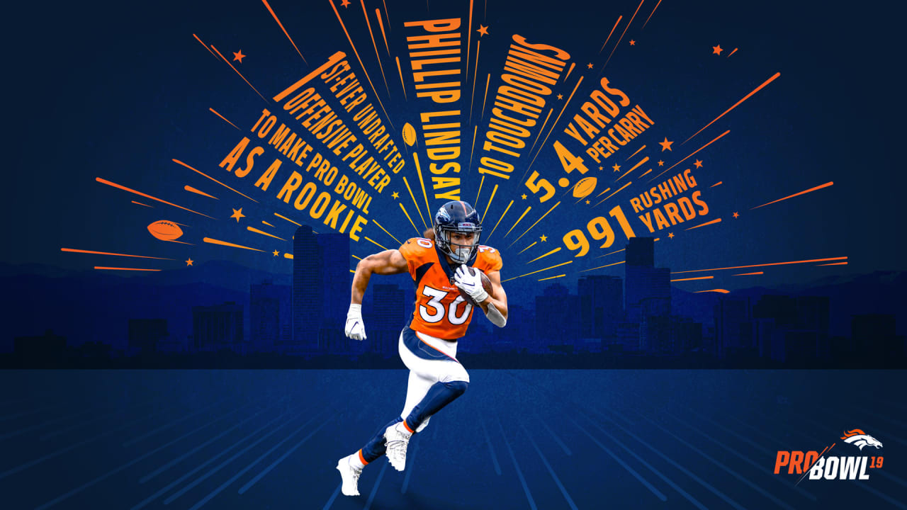 buy online 627cb 64be0 Phillip Lindsay makes history with Pro Bowl selection