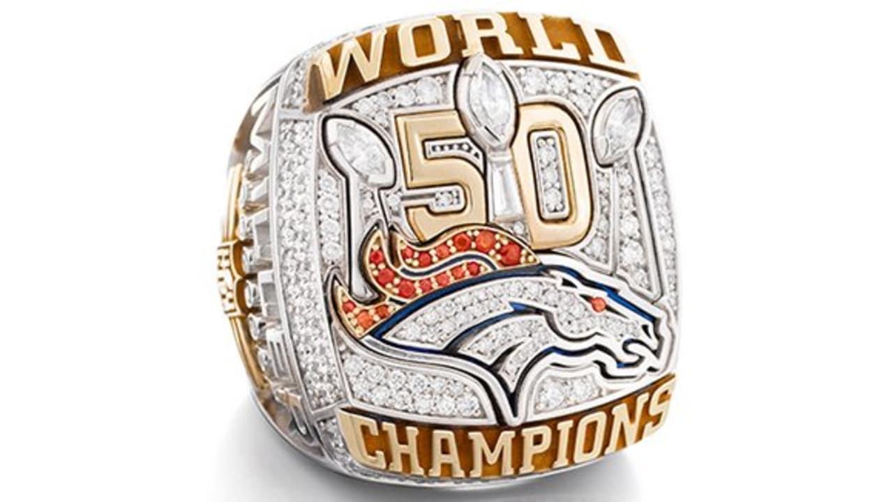 ac5e201100c6 Denver Broncos Super Bowl 50 Championship ring