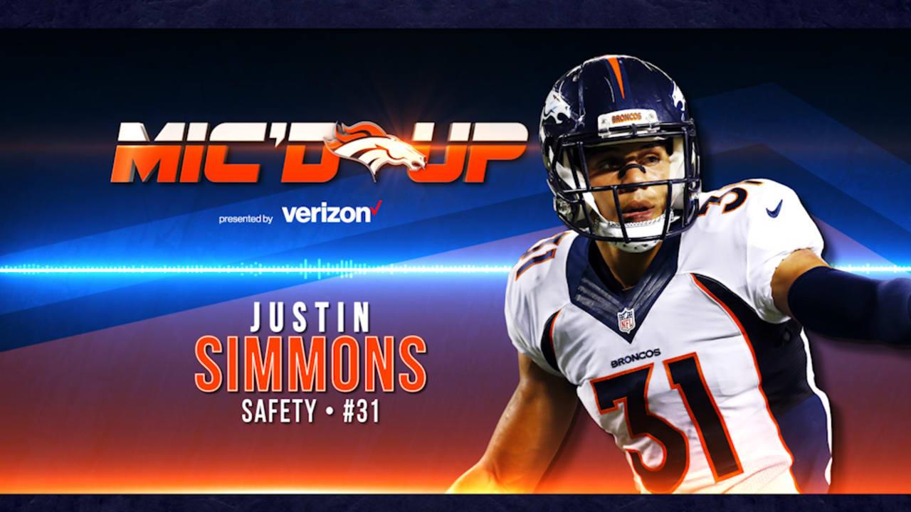 495db666f74 Mic d Up  Justin Simmons vs. the Jets