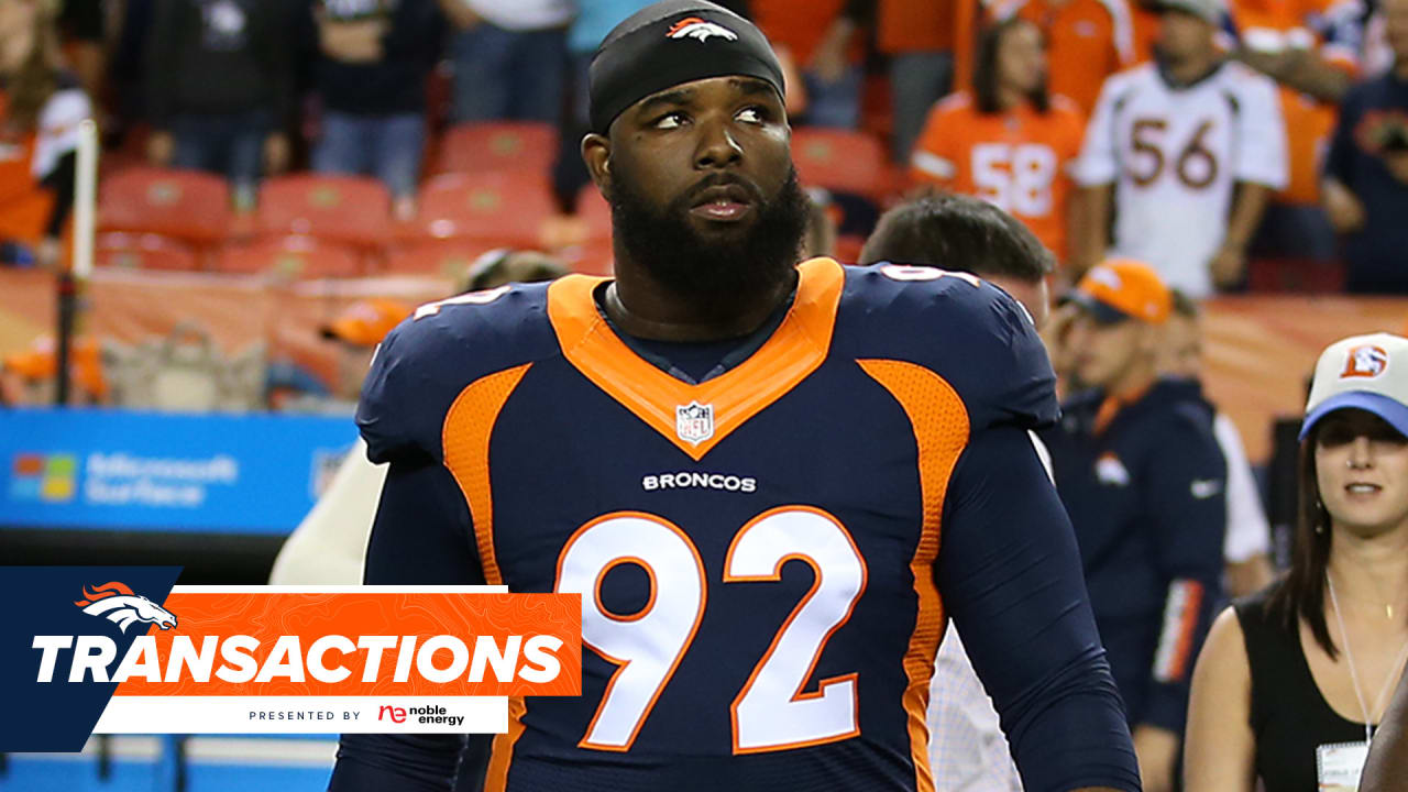 Denver Broncos sign Sylvester Williams to practice squad