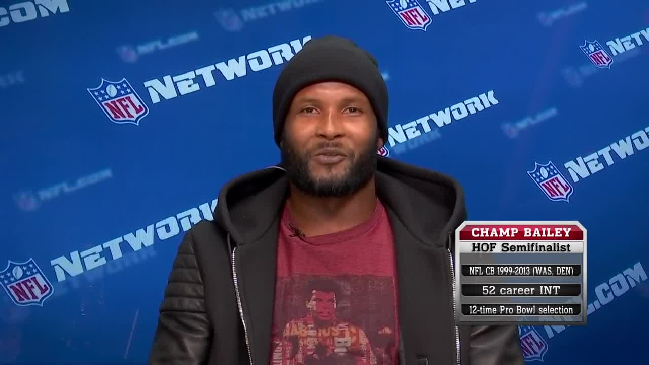 91ca6680afd Champ Bailey makes his case for the Hall of Fame in 2019