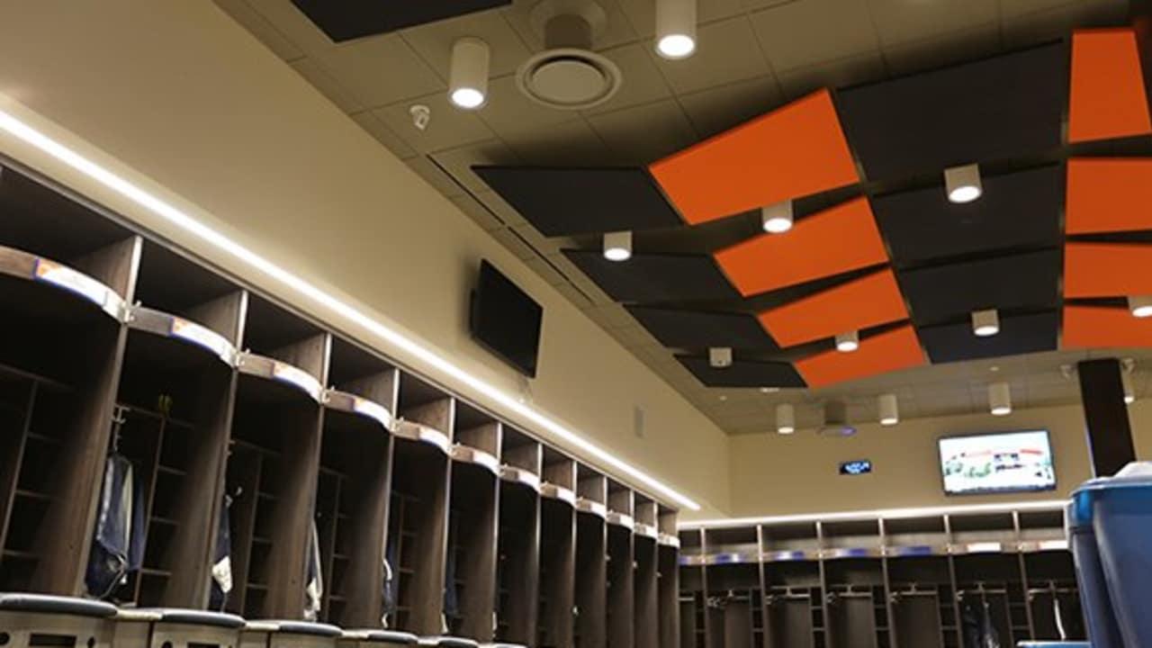 Inside The Broncos New Locker Room