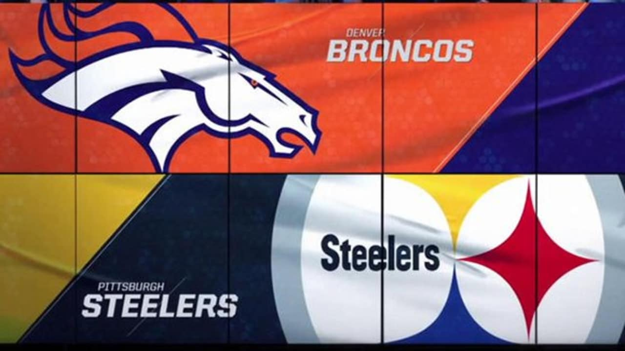 db97ab3daff Week 15  Broncos vs. Steelers highlights