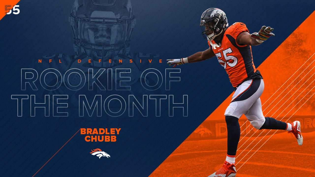 e60e1803c Bradley Chubb wins NFL Defensive Rookie of the Month honors