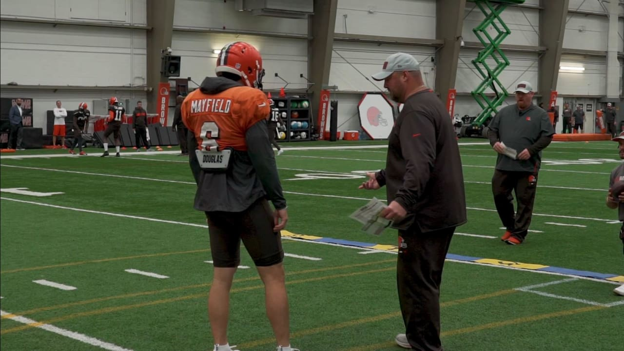 76535cd7c3 Baker Mayfield: I have a great relationship with Freddie Kitchens