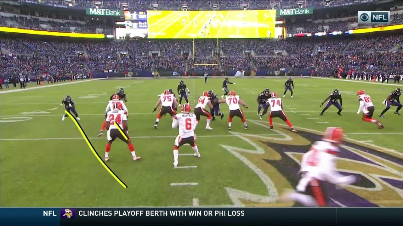 56ab55fec Browns vs. Ravens highlights