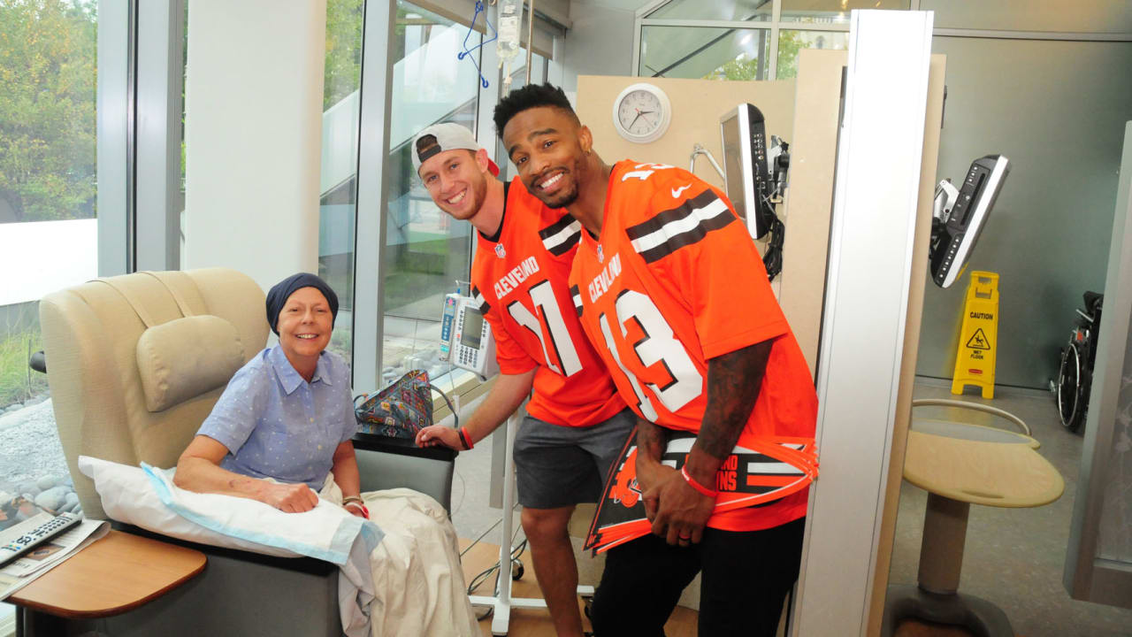 Browns host  Crucial Catch  Intercept Cancer  game against Ravens 7ab3873b0