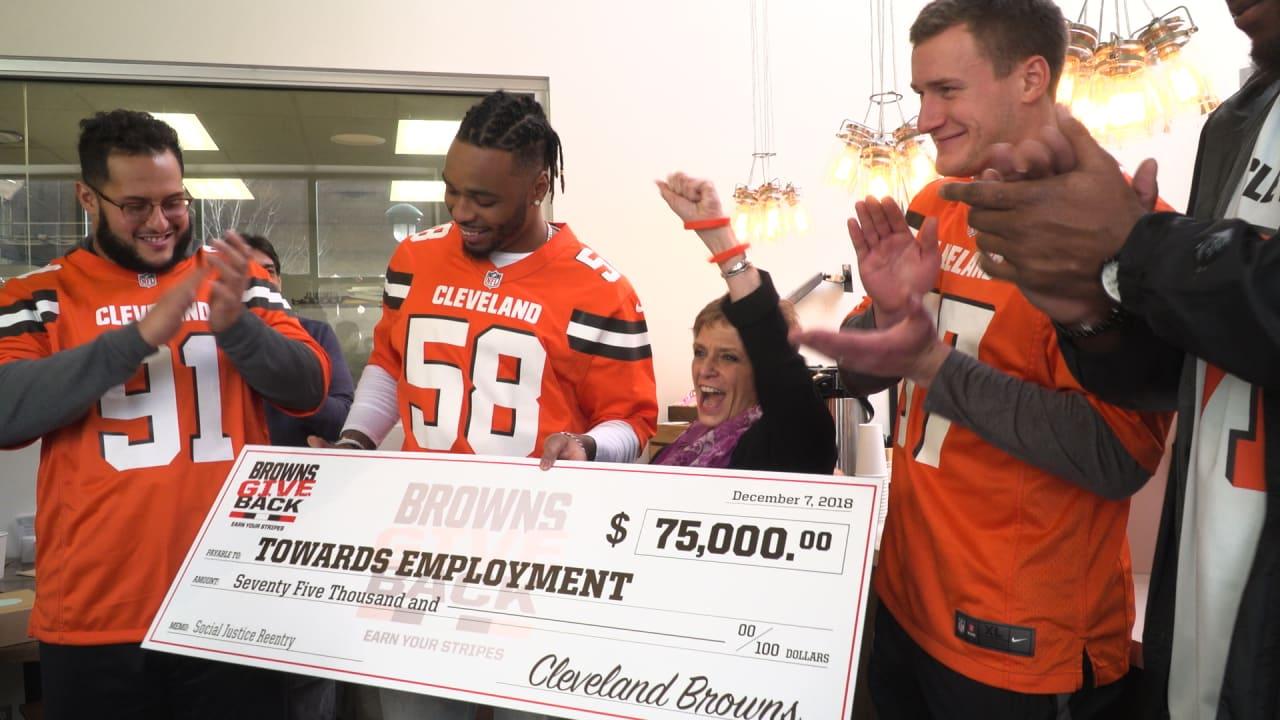 Browns donate  75 ecd71ffea
