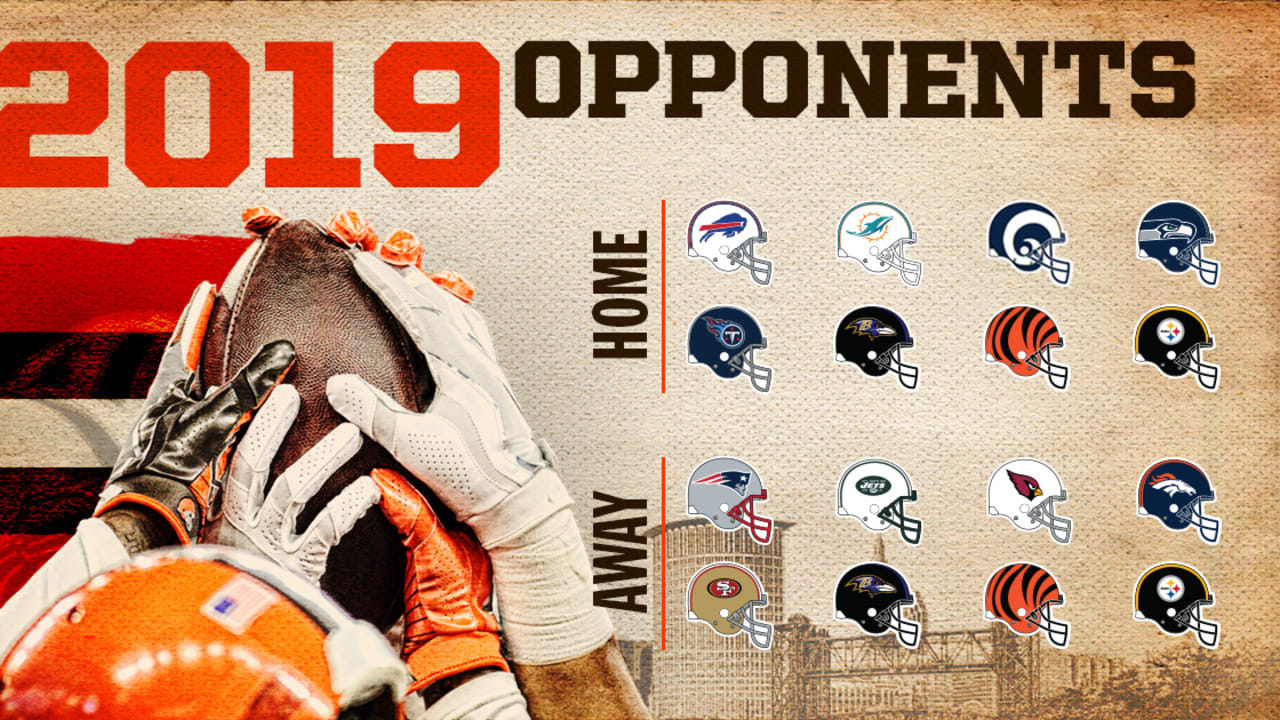 98763eb6 Browns' 2019 opponents are set