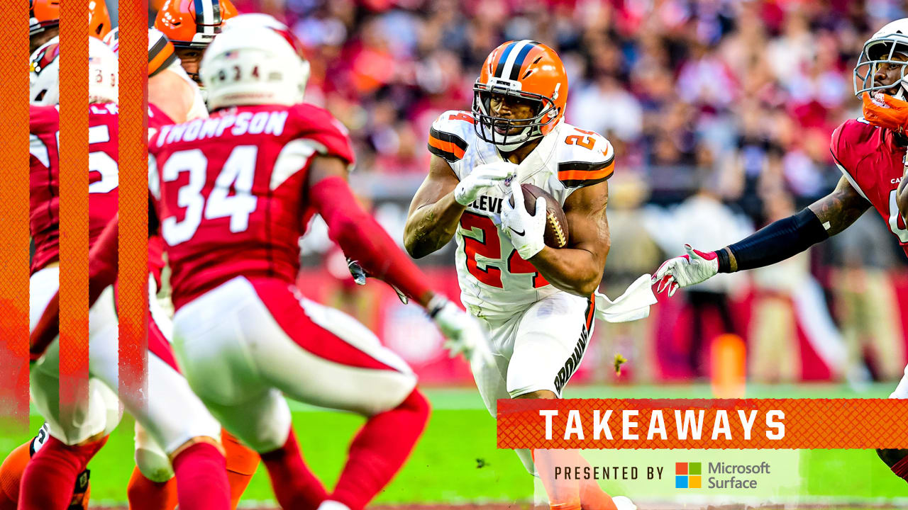 3 Big Takeaways: Slow start puts Browns in a bind they can't overcome vs. Cardinals