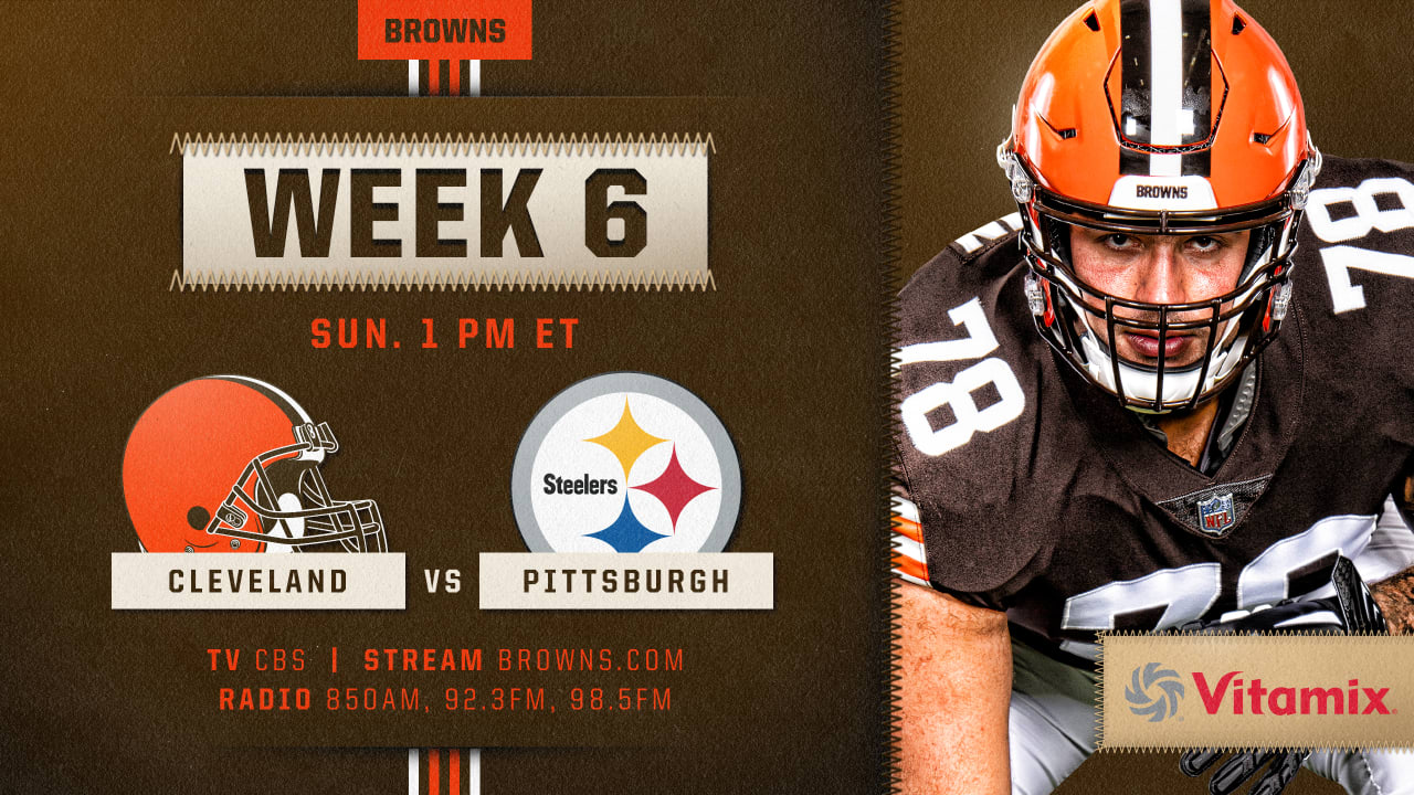 How To Watch Cleveland Browns At Pittsburgh Steelers On October 18 2020