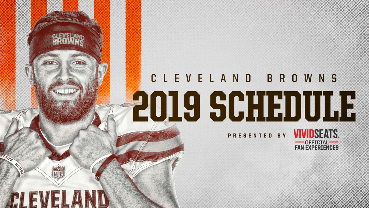 Cleveland Browns 2020 Schedule.Cleveland Browns Announce 2019 Schedule