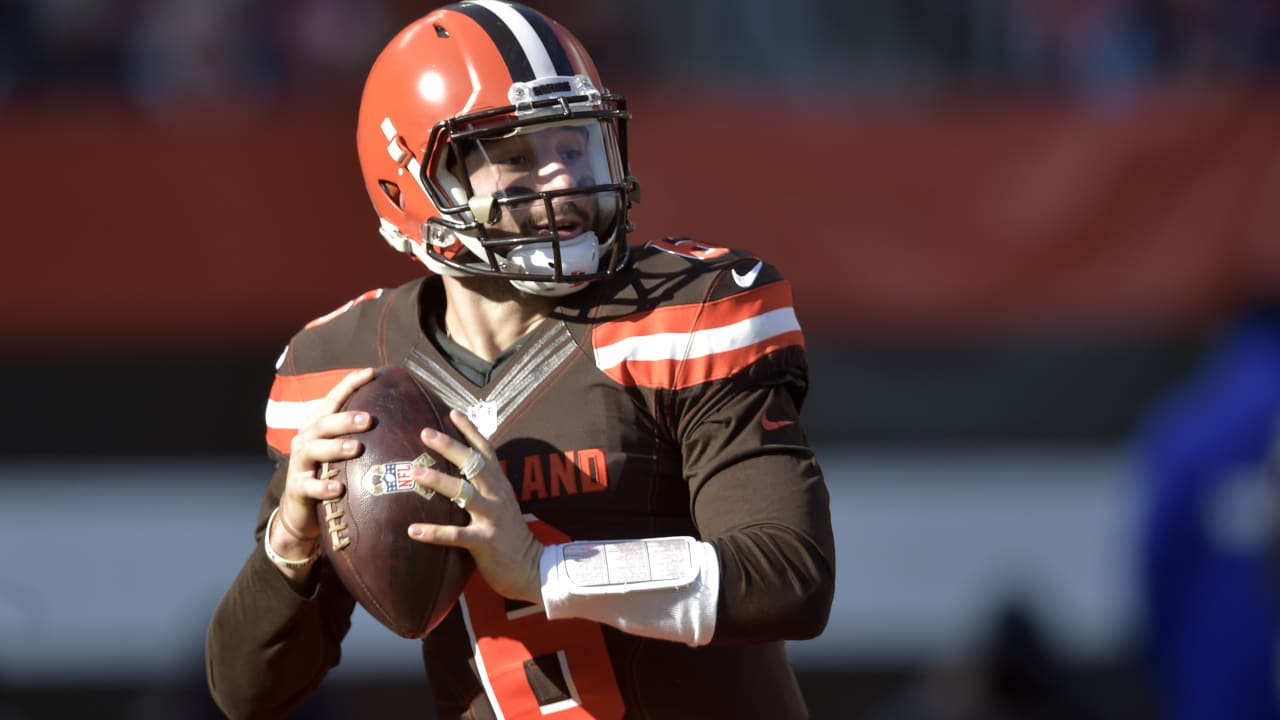 2a746057831 Mic d Up  Cleveland Browns QB Baker Mayfield says he  woke up feeling  dangerous  after TD throw