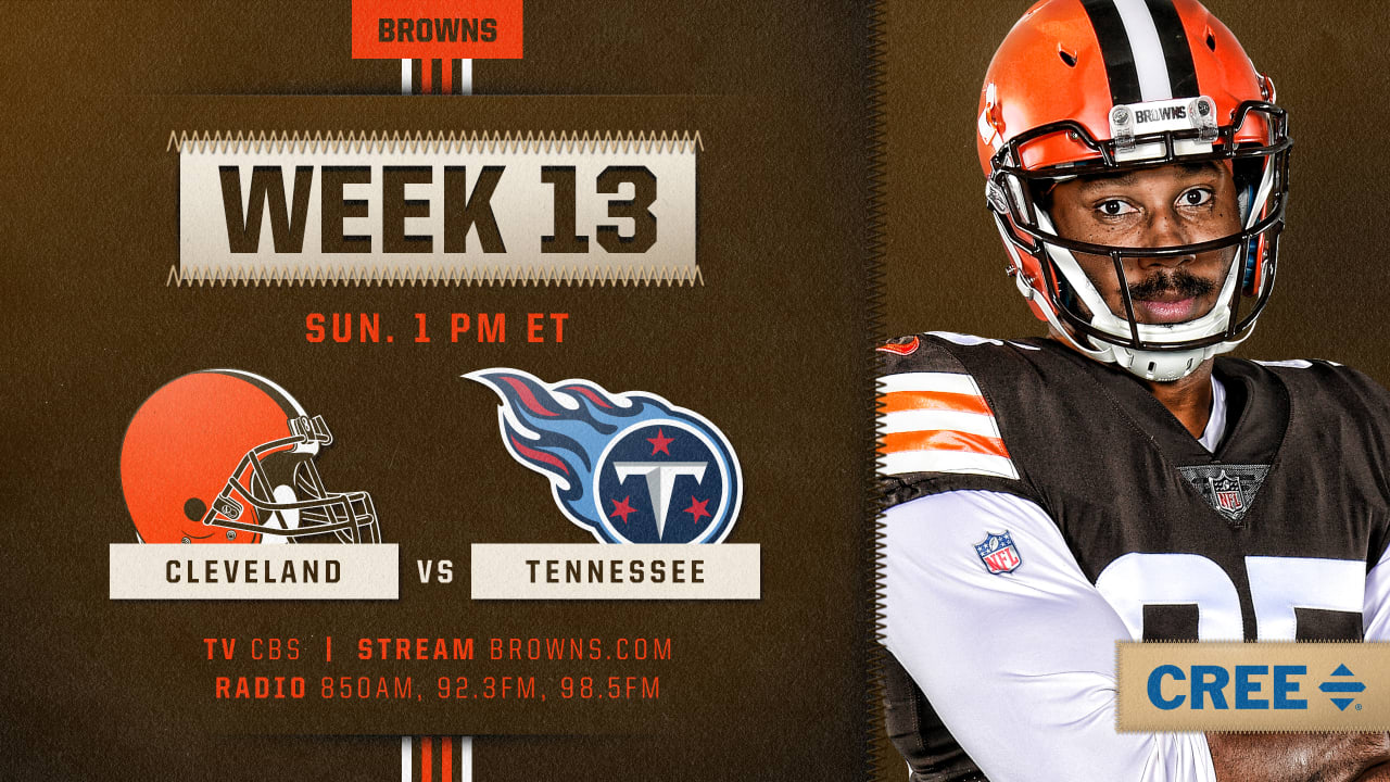How to Watch Cleveland Browns at Tennessee Titans on ...