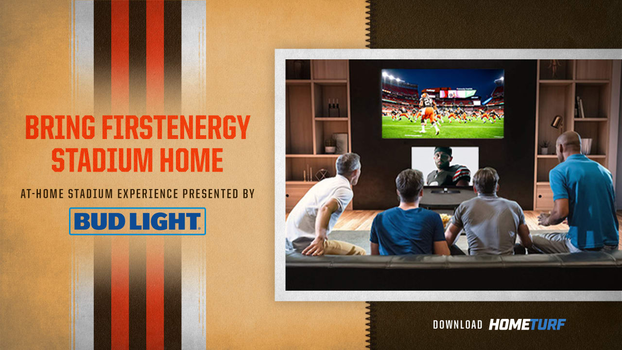 Bring Firstenergy Stadium Into Your Home By Downloading Hometurf App