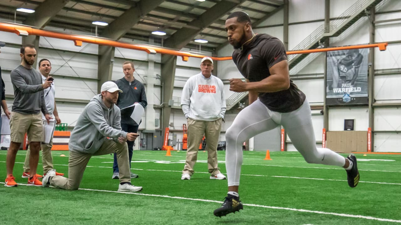 c68bbc09 Browns get final look at nearby prospects with local pro day