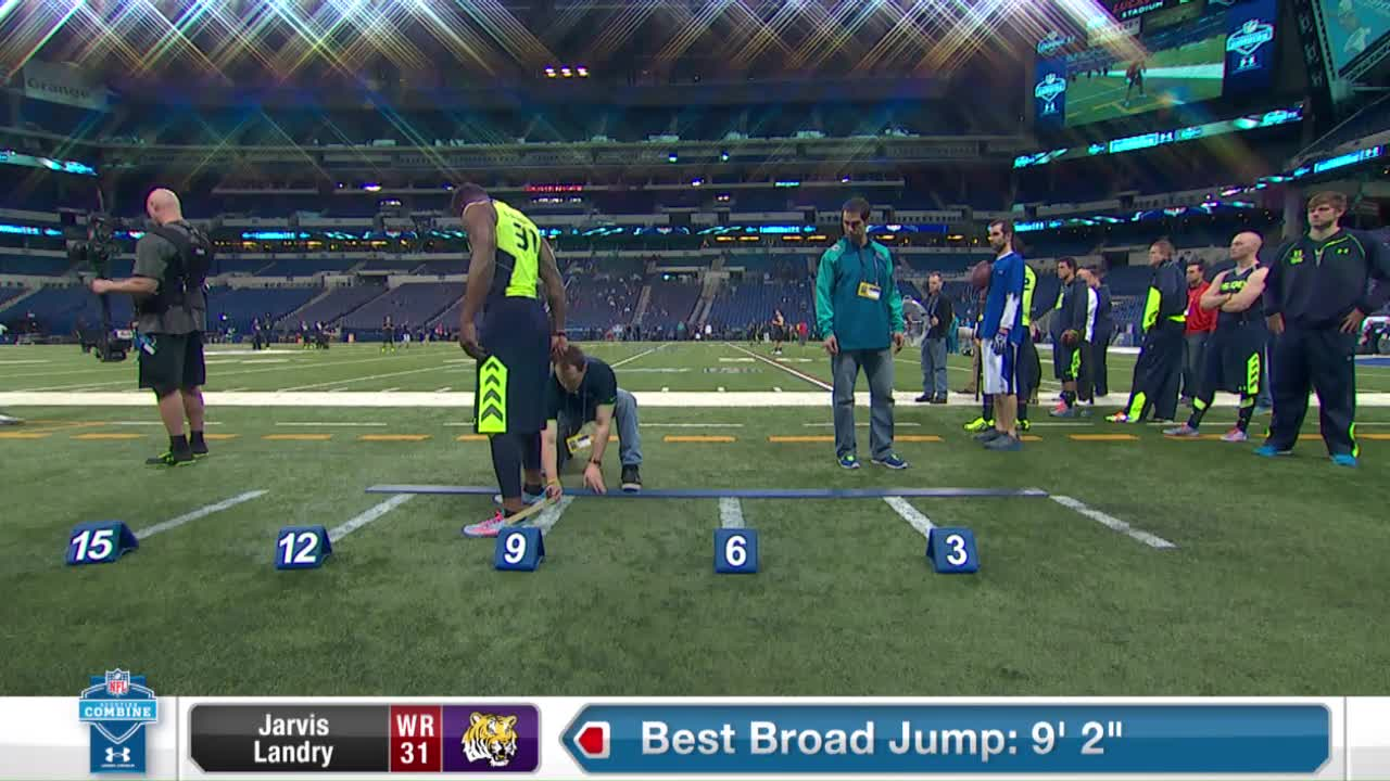 Jarvis Landry 2014 Combine Workout