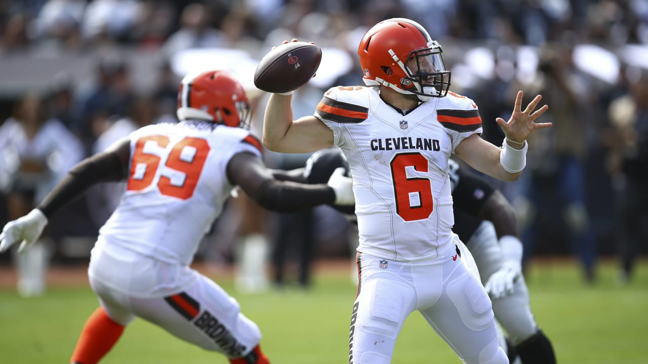 1f3b136c6 Baker Mayfield owns turnovers in otherwise impressive debut as Browns  starter