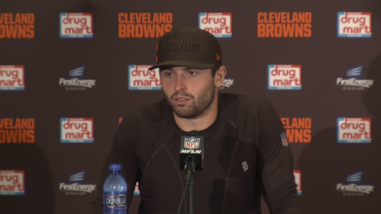f298366bb10 Baker Mayfield postgame press conference - Browns vs. Jets