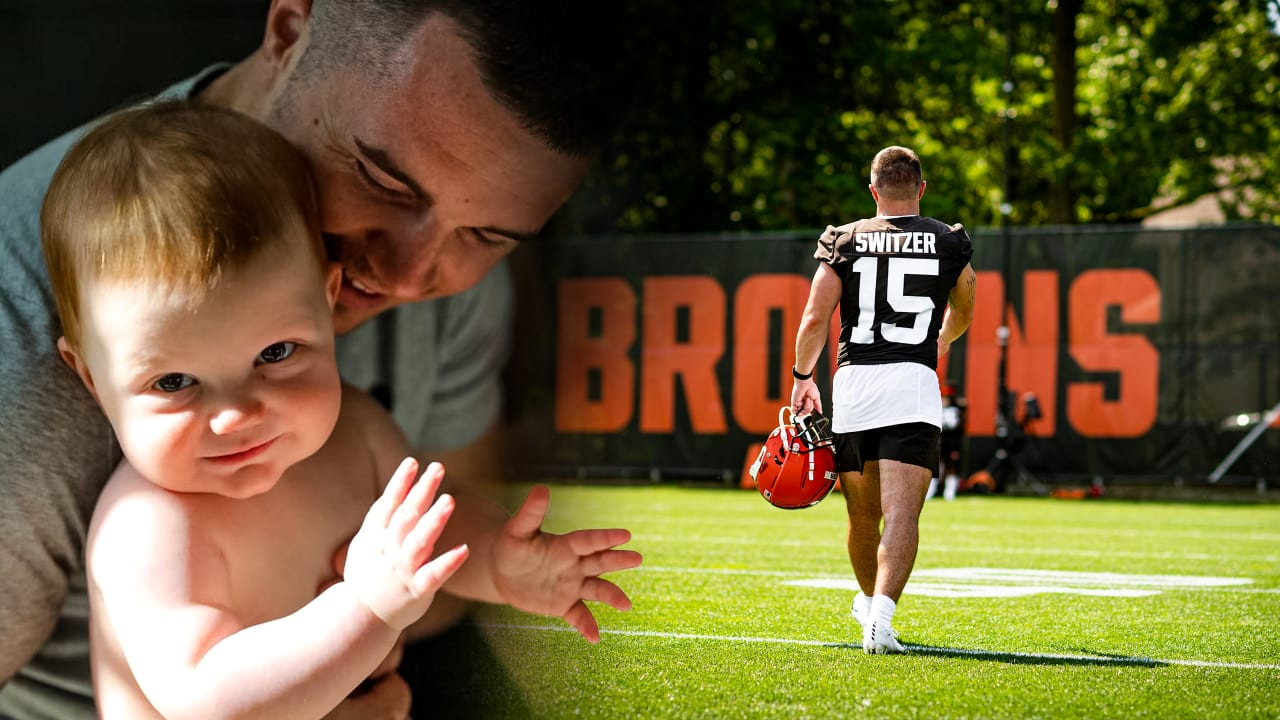 Ryan Switzer found a new perspective on life after watching his son fight for his own