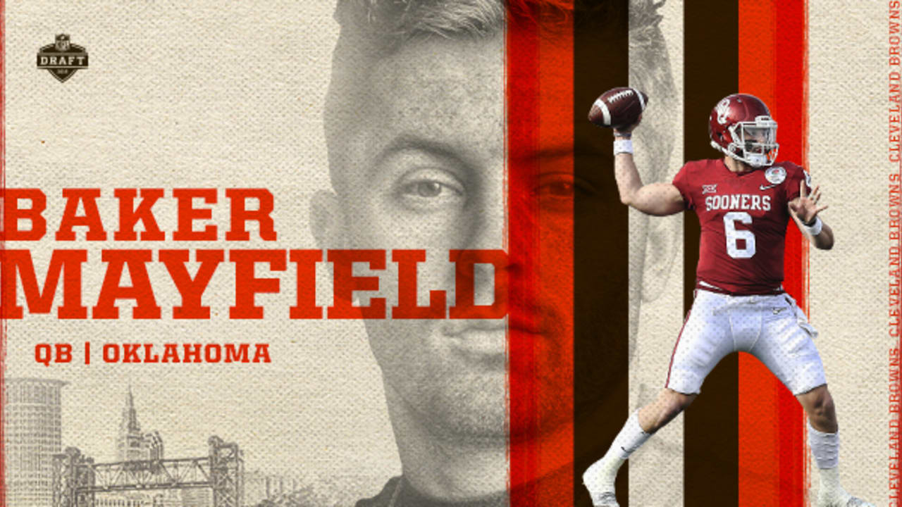 ef032d67a84 Browns make Baker Mayfield the No. 1 pick in 2018 NFL Draft