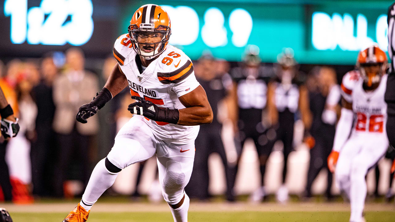 Myles Garrett, off to hot start with 20 sacks, aiming for penalty ...