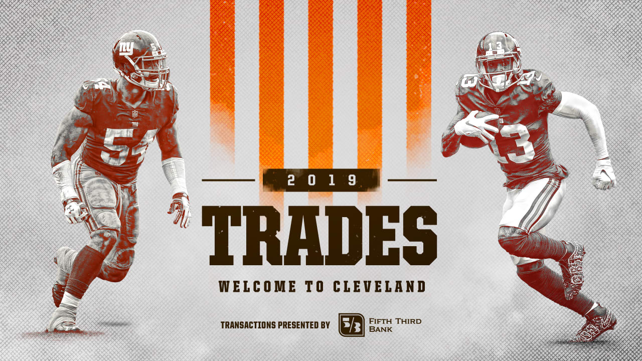 Browns Blockbuster Trade With Giants Brings All Pro Wr