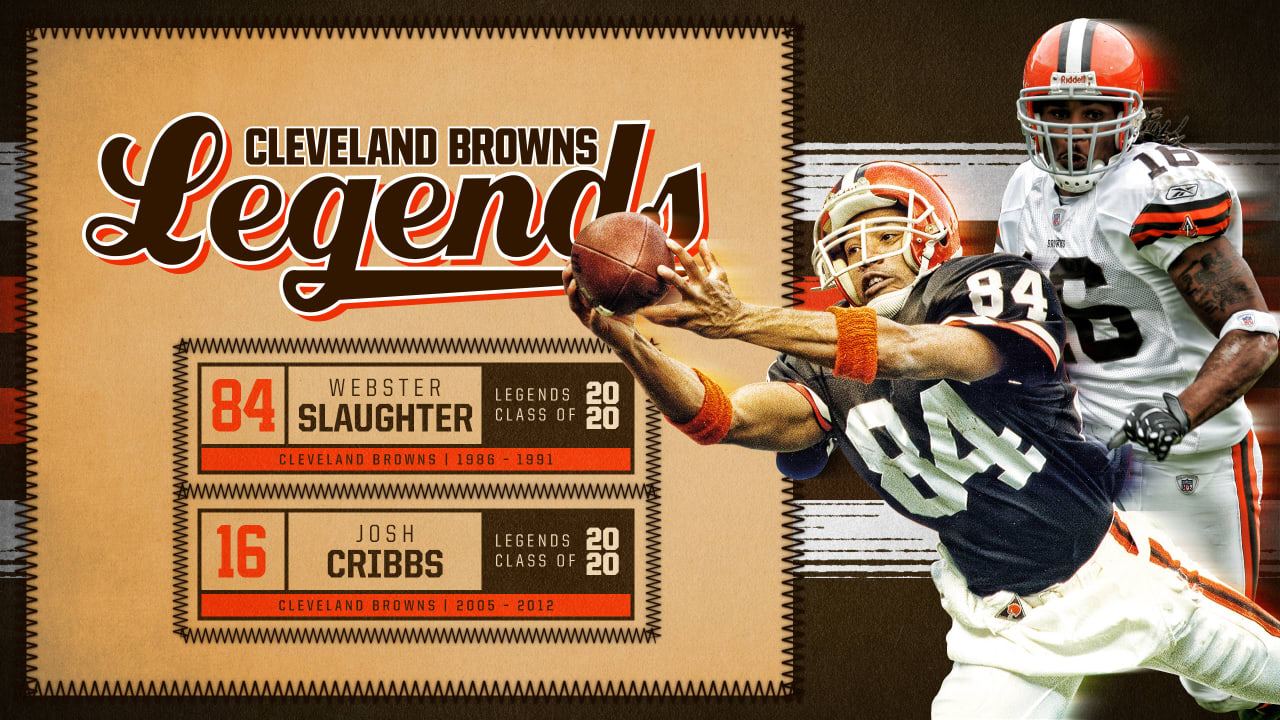 Josh Cribbs Webster Slaughter Named To 2020 Class Of Browns Legends