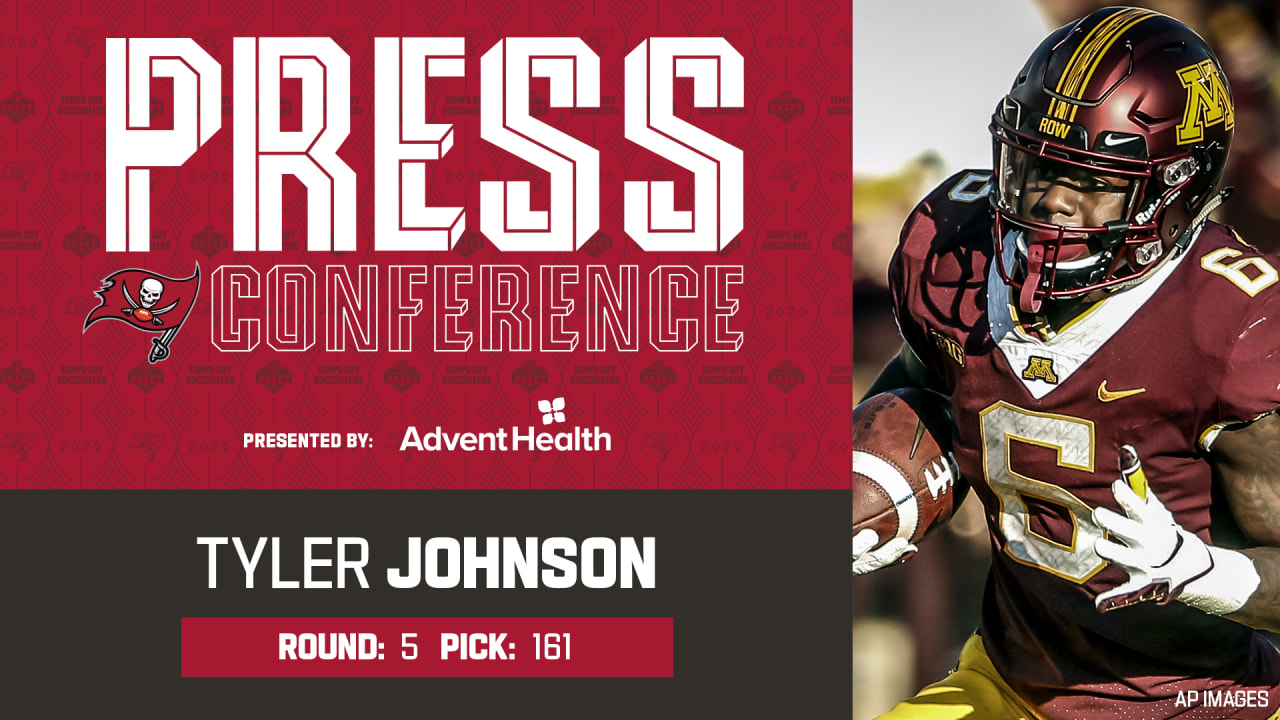 Tyler Johnson On Reuniting With Antoine Winfield Jr Leadership Press Conference