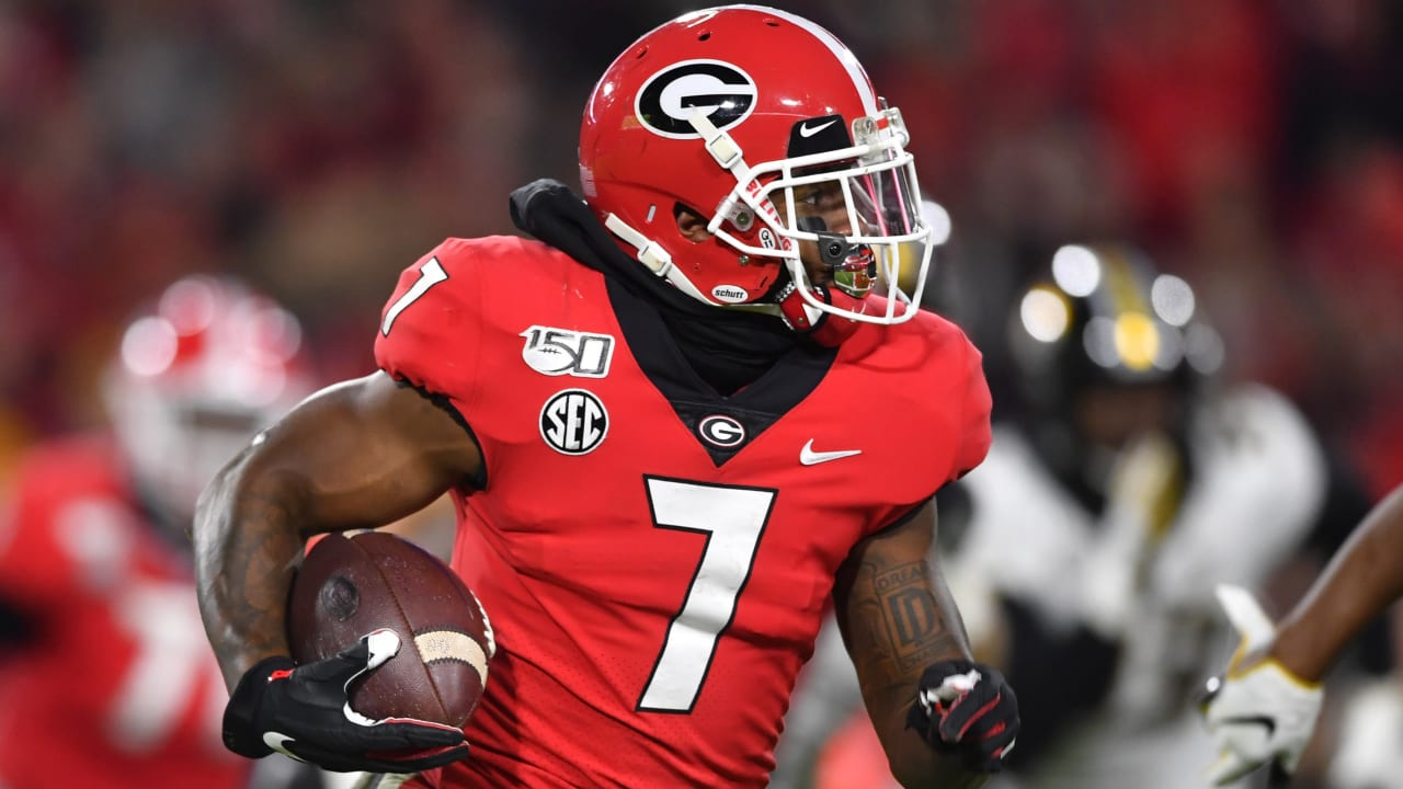 What you need to know about Georgia RB D'Andre Swift
