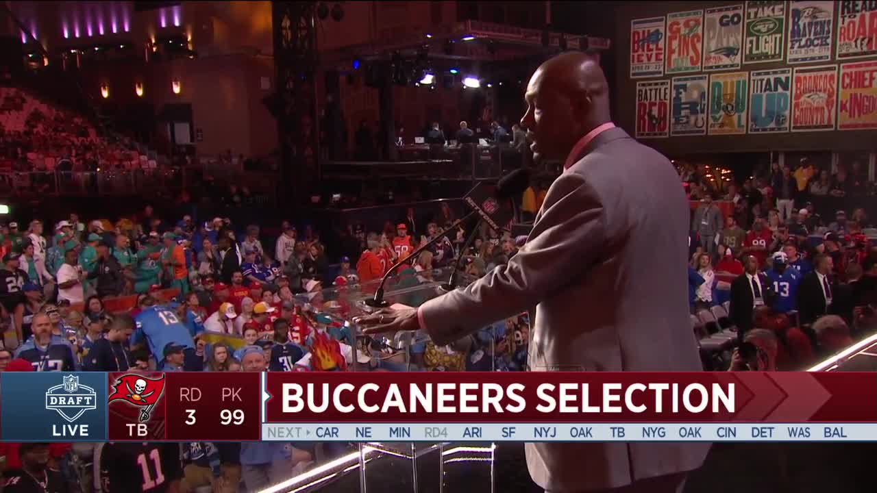 Mike Edwards Joins the Buccaneers | Highlights & Selection ...