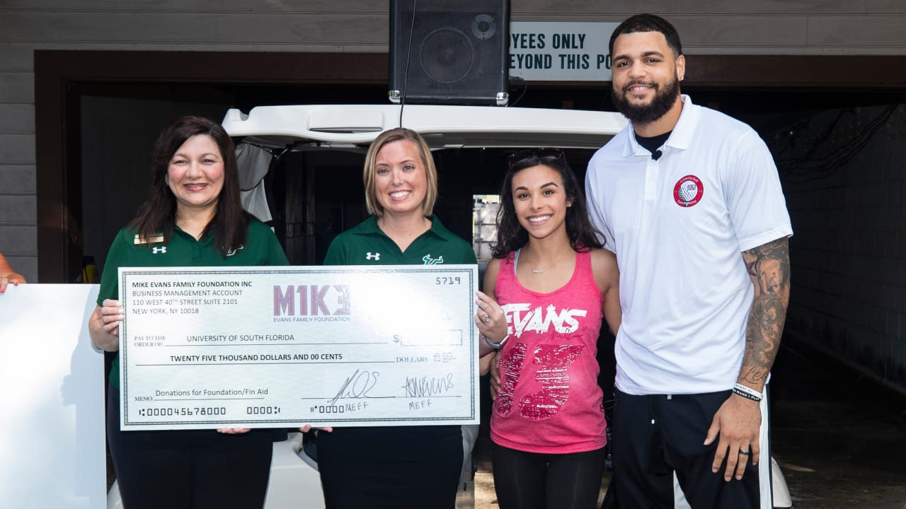 Mike Evans Family Foundation Donates $25,000 to Fund