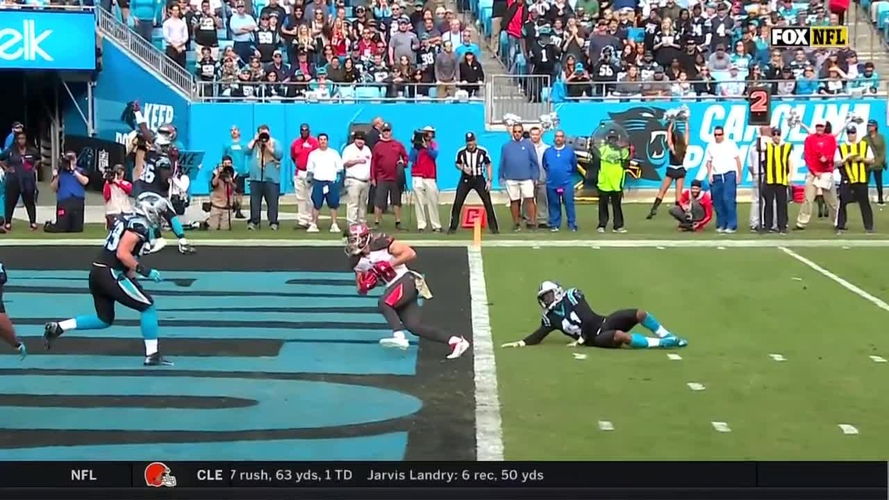 96b12581 Ryan Fitzpatrick Touchdown Pass to Adam Humphries | Bucs vs. Panthers  Highlights