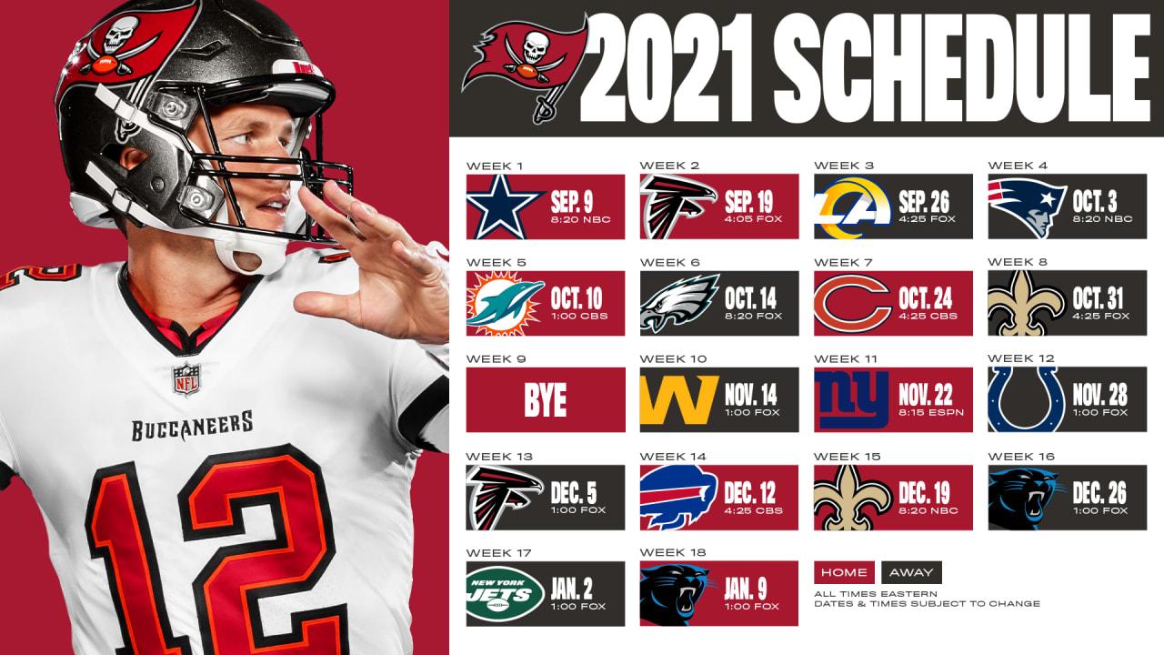 Tampa Bay Buccaneers Season Preview (Schedule)