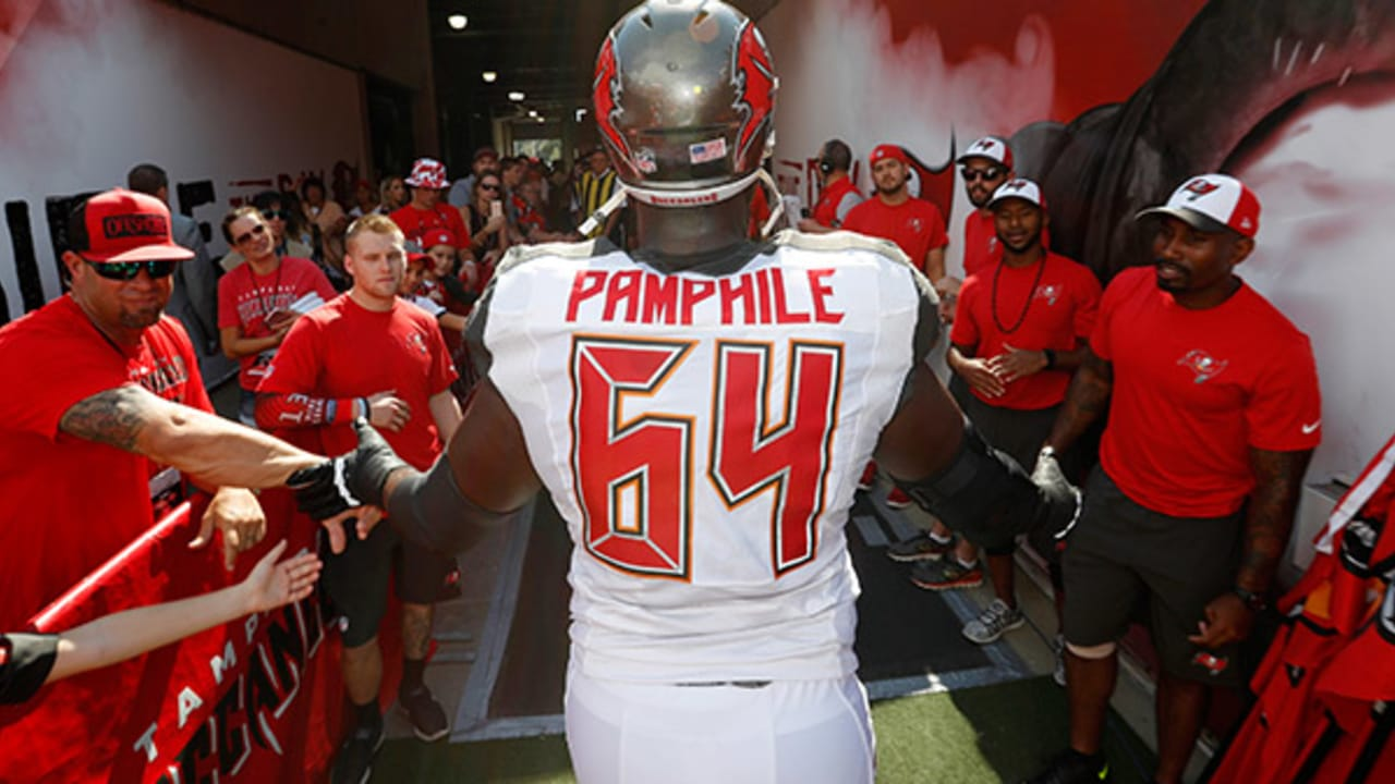 best service 6e8d5 ce133 Pamphile Named NFLPA Community MVP