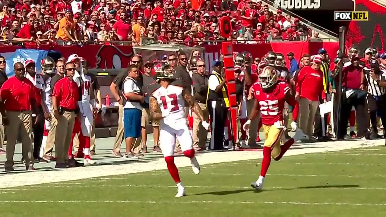 778049c7 Jameis Winston Launches it Deep to Mike Evans   Bucs vs. 49ers Highlights